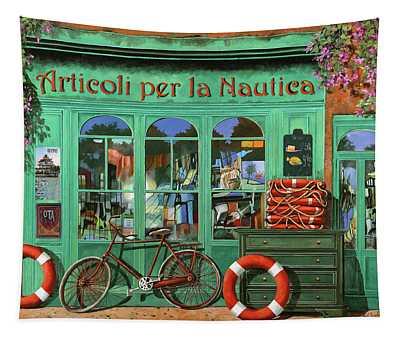 Ancora Una Bicicletta Rossa Tapestry