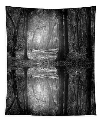 And There Is Light In This Dark Forest Tapestry