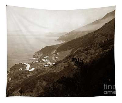Anderson Creek Labor Camp Big Sur April 3 1931 Tapestry