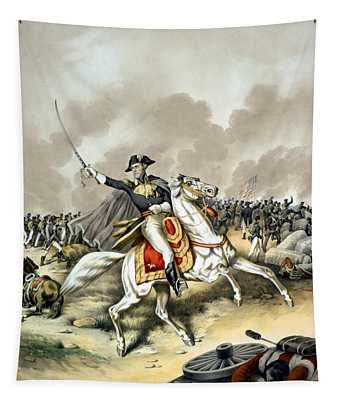 Andrew Jackson At The Battle Of New Orleans Tapestry