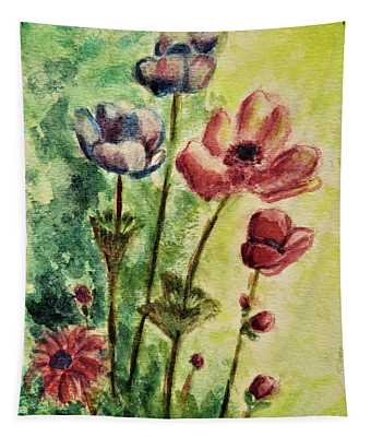 Anemones Tapestry