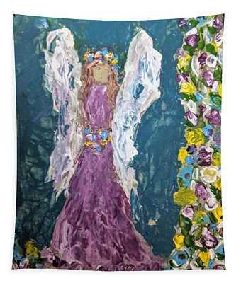 Angel Diva Tapestry