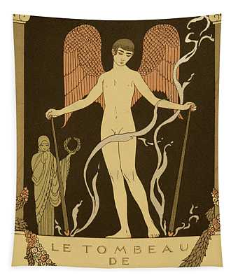 Angel Le Tombeau De Bilitis Tapestry