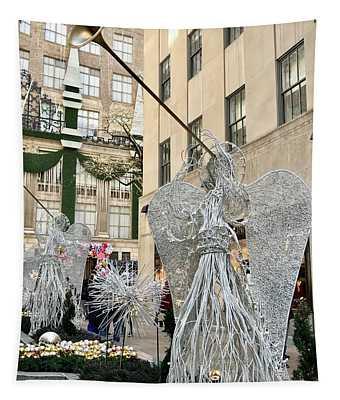 Angel New York City Tapestry