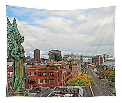Angel Of Old Montreal Tapestry