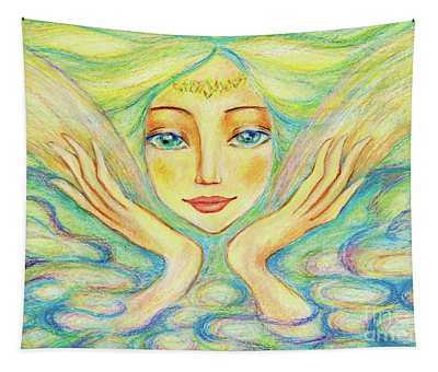 Angel Of Serenity Tapestry