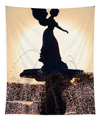 Angel Of The Waters Tapestry