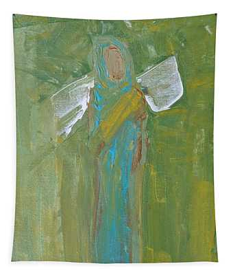 Angel Praise And Worship Tapestry