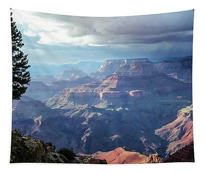 Angel S Gate And Wotan S Throne Grand Canyon National Park Tapestry