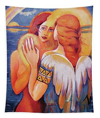 Angel Touch Tapestry