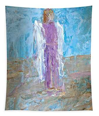 Angel With Confidence Tapestry