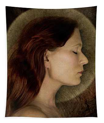 Angelic Portrait Tapestry
