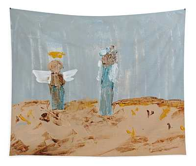 Angels Taking Care Of E Tapestry