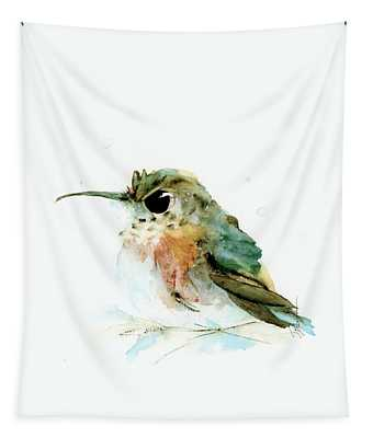 Angry Little Rufous Tapestry