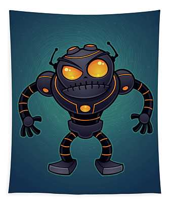 Angry Robot Tapestry