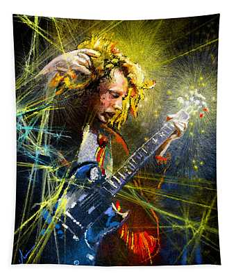 Angus Young Tapestry