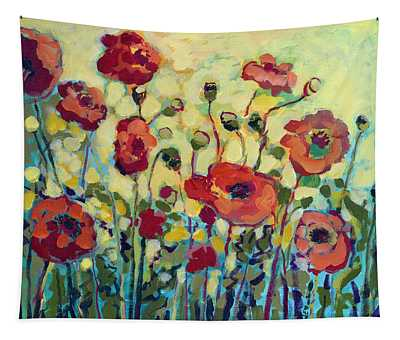 Poppies Paintings Wall Tapestries