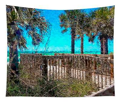 Anna Maria Boardwalk Access Tapestry