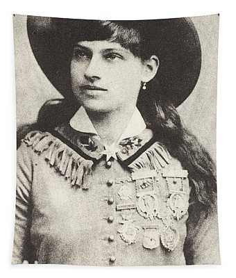 Annie Oakley Tapestry
