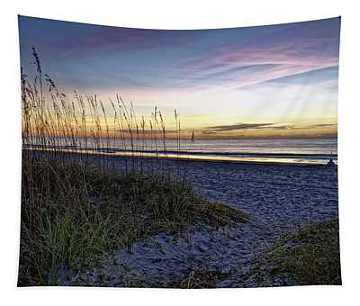 Another Beach Morning Tapestry
