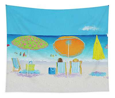 Another Perfect Beach Day Tapestry