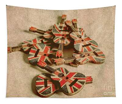 Anthem Of Old England Tapestry