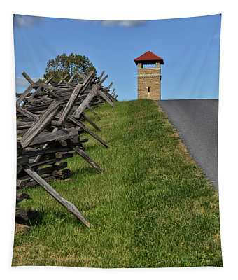 Antietam Battlefield Observation Tower Tapestry