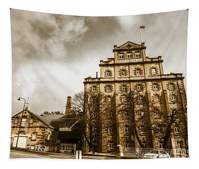 Antique Australia Architecture Tapestry