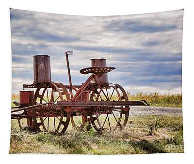 Antique Corn Planter Tapestry