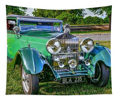 Antique Rolls Royce  Tapestry