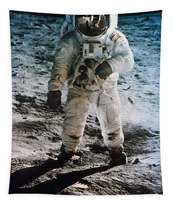 Apollo 11 Buzz Aldrin Tapestry