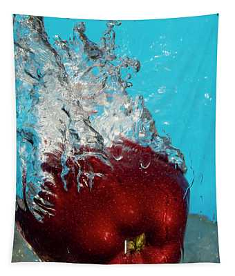 Apple Bath Tapestry