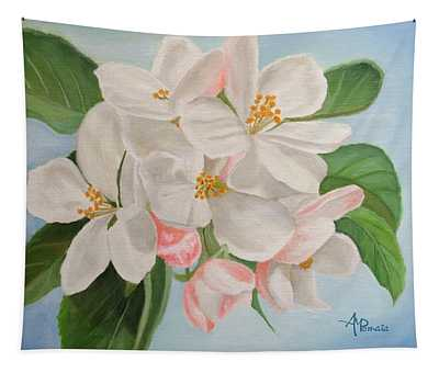 Apple Blossom Tapestry