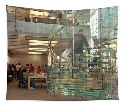 Apple Store In New York City Tapestry