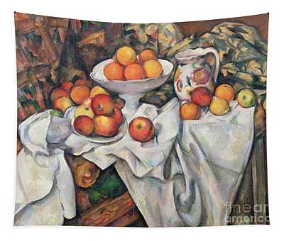 Apples And Oranges Tapestry