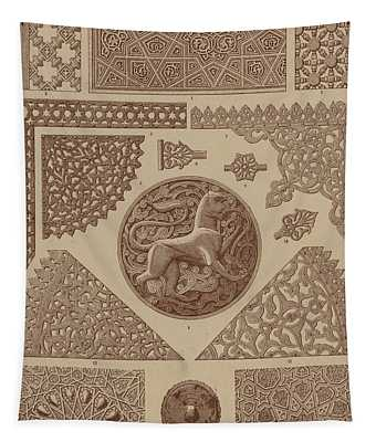 Arabian Textile Patterns Tapestry