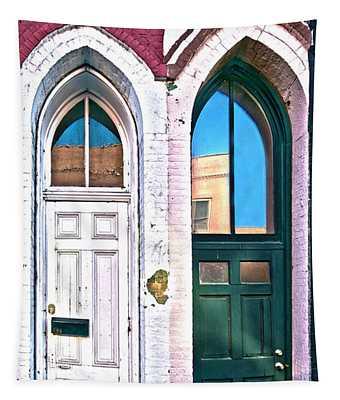 050 - Door One And Door Too Tapestry