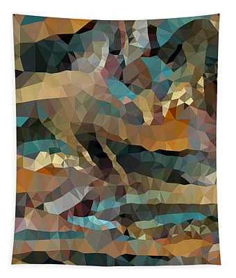 Arizona Triangles Tapestry