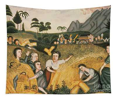 Ark Of The Covenant Tapestry