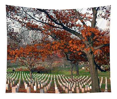 Arlington Cemetery In Fall Tapestry