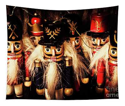 Army Of Wooden Soldiers Tapestry