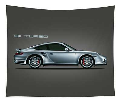 Porsche 911 Turbo Tapestry