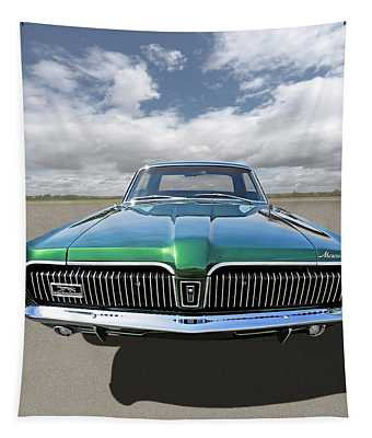 Green With Envy - 68 Mercury Tapestry