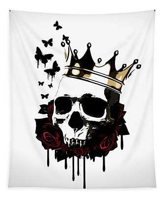 El Rey De La Muerte Tapestry