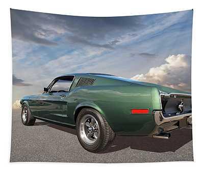 Bullitt - 1968 Mustang Fastback Tapestry