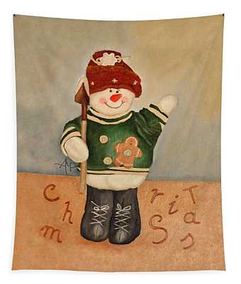 Snowman Junior Tapestry