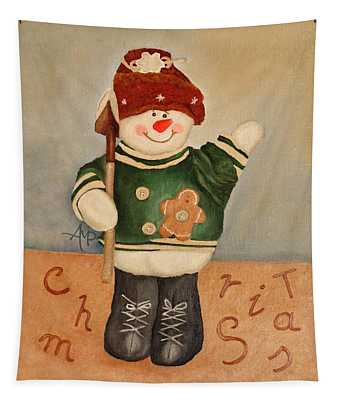 Snowman Junior Tapestry