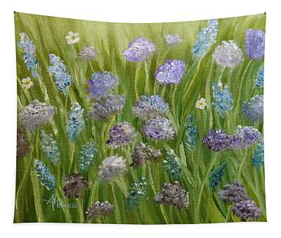 Flowers Field Tapestry