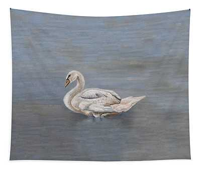 Silver Swan Tapestry
