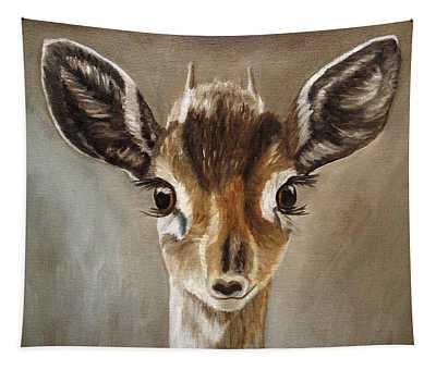Big Eyes Dik-dik Tapestry